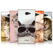 HEAD CASE CATS PROTECTIVE COVER FOR SONY XPERIA M2