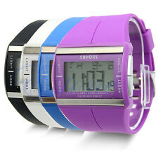 Womens Mens Digital LED Sport Wrist Watch Wristwatch Chronograph Quartz HOT