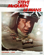 LE MANS STEVE MCQUEEN RACING MOVIE POSTER ART PHOTO OR POSTER