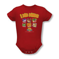 The Land Before Time Dinosaur Movie I Dig Dinos Baby Infant Romper Snapsuit