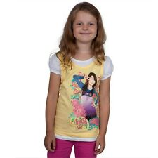 iCarly - Peace Sign Girls Juvy Short Sleeve 2fer - Yellow