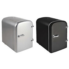 4 Litre Mini Travel Fridge Cooler With Car Caravan & Home AC Adaptor Room Desk