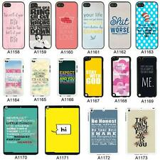 SAYINGS QUOTES COVER CASE FOR APPLE IPHONE IPOD AND IPAD - A4