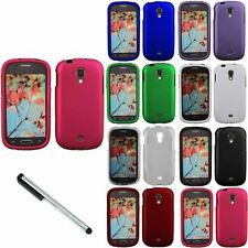 For Samsung Galaxy Light T399 T-Mobile Solid Hard Case Phone Cover + Stylus Pen