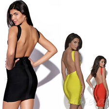 Sexy Bandage Dress Star Models Bandage Tight Body Sculpting Package Hip Dress