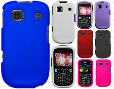 Cricket ZTE Altair Rubberized HARD Protector Case Snap Phone Cover +Screen Guard