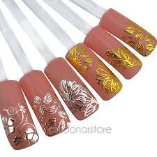 Sexy Nail Art Polish Full Wraps Stickers Decals DIY Manicure Tips Decorations