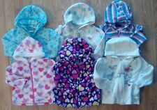 Lots of Girl's 12-18-24 M Months Hooded Zippered Jackets Old Navy, Faded G Etc.