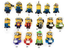 Big sales Cartoon Minions toy model 8GB USB 2.0 Memory Stick Flash pen Drive