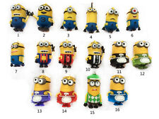 Cartoon Minions toy model 8GB 16GB 32GB USB 2.0 Memory Stick Flash pen Drive