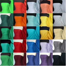 100% Cotton Interlock Jersey T-shirt Fabric Material Various Colours FREE P&P
