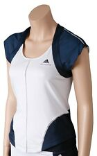 NEW WOMENS ADIDAS  STELLA MCCARTNEY Barricade TENNIS RUNNING SHIRT TOP CAPSLEEVE