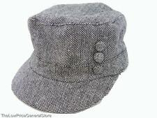 Womens D&Y Military Style OneSize Cap,  Choose Color