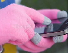 Handy Light Touch Screen Gloves Smartphone Texting Stretch Winter Knit Tablet