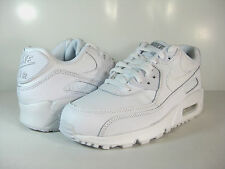 NIKE AIR MAX 90 (GS) White/Wolf Grey -307793 167- US BOYS