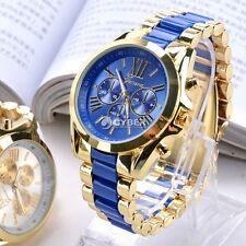 Classic Luxury Men Stainless Steel Quartz Analog Wrist Watch Fashion Waterproof