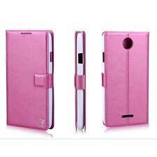 Flip Support Wallet Leather Cover Case For Lenovo A658T 4Colors a