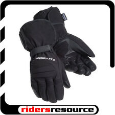 Tourmaster Synergy 2.0 Heated Textile Motorcycle Gloves Black (Choose Size)