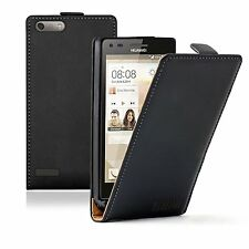 Ultra Slim Leather Mobile Phone Huawei Ascend G6 4G - Case Cover Pouch