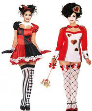 GOTHIC ALICE IN WONDERLAND FANCY DRESS COSTUME HALLOWEEN DECK OF CARDS