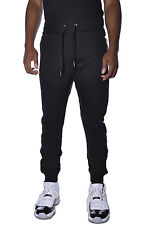 French Terry Drop Crotch Switch Urban Casual Street Hip Hop Jogger Sweatpants