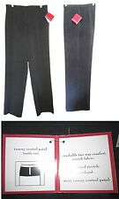 FOCUS 2000 Comfort Within Slender Fit Tummy Control Panel Stretch Dress Pant NWT