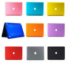 Rubberized See Thru Hard Case Cover for Macbook Pro 13 15 with or without Retina