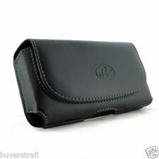 Leather Belt Clip Case Holster for Cell Phones COMPATIBLE WITH Otterbox Prefix