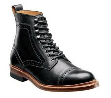 Stacy Adams Men's Madison II Leather Wingtip Ankle Casual Boots Black 00062