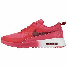 Nike Wmns Air Max Thea PRM Premium Red 2014 Womens Running Shoes 1 Sneakers