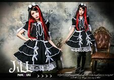 lolita fairy Princess diary cosplay Mon mon maid champion tiered dress HA141 W