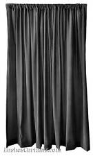 Monster High Stage Backdrop/Partition Drape Black Velvet 20ft Curtain Long Panel