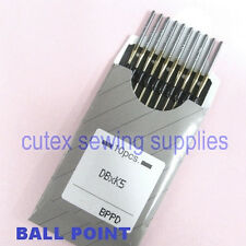 10 Organ Titanium Ball Point DBXK5 Commercial Embroidery Sewing Machine Needles