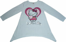 NEW Sanrio Hello Kitty Heart Girls Dress Top (W) 3-11Y