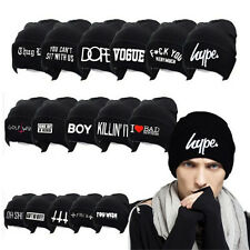 Women's Men's Hat Unisex Warm Winter Knit Fashion cap Hip-hop Beanie Hats
