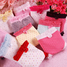 new Wholesale lots 12 PCS Women's underwear Cute Bow Mix color cotton Panties