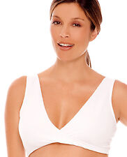 Lamaze Cotton Spandex Sleep Bra for Nursing and Maternity - LM 106