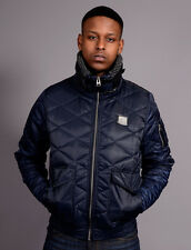 New Mens Voi Jeans Designer Fierce Bomber Jacket Navy
