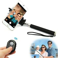 Self Portrait Handheld Extend Monopod Holder Bluetooth RC Shutter for Cell Phone