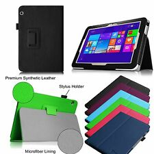 PU Leather Cover Case For Toshiba Encore 2 WT10-A32/A64 10.0 Inch Windows Tablet