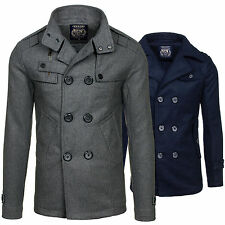 Century Herrenmantel Mantel Jacke Coat Übergangsjacke Herrensakko Slim Fit MIX