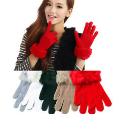 Fashion Elegant Solid Colors Knit Fall & Winter Warmer Gloves Mittens ST277