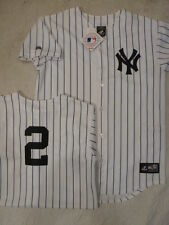 4920 WOMENS Majestic New York Yankees DEREK JETER Baseball Jersey WHITE