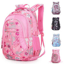 Middle School Kids Students School Bags New Floral Backpack  Rucksack ZF0030