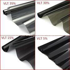 "Lot Roll of Black Window Tint Film VLT 5% 15% 30% 35% Car House 2PLY 20""x20FT"