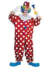 Plus Size Dotted Clown Costume