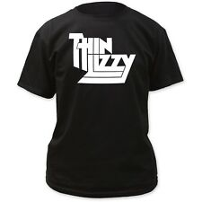 Thin Lizzy Irish Hard Rock Heavy Metal Band Classic Logo Brian Phil T-Shirt Top