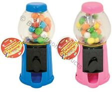 Mini Gumball Dispenser Machine Toy Bubble Gum Christmas Party Bag Red Pink Blue