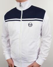 Sergio Tacchini New Young Line Track Top in White & Navy / Dallas Orion / SALE