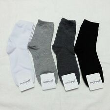 Outdoor Lot New Adult Mens/Women Ordinary Dress Socks Casual Fashion Cotton Sox